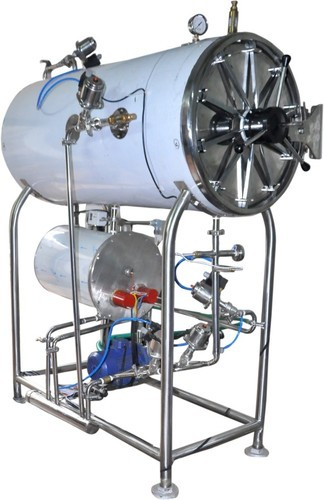 Autoclave Manufacturer In Ahmedabad, cylindrical autoclave, horizontal cylindrical autoclave sterilizer, Fully Automatic Sterilizer